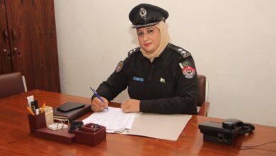Photo of Khyber Pakhtunkhwa police is working to eradicate crime. Nadia Shaheen