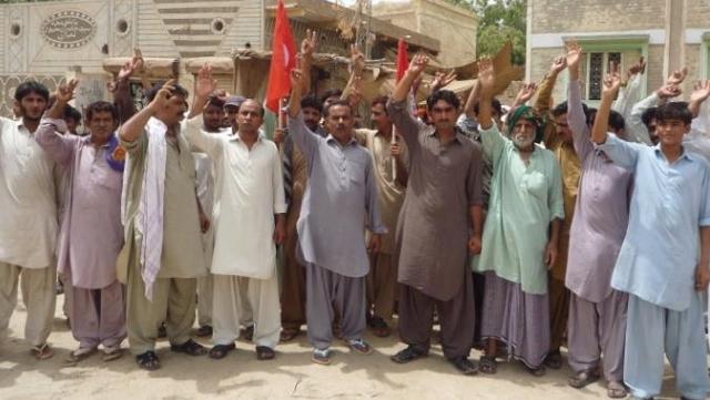 ايڪشن ڪاميٽي جي سڏ تي رسول آباد ۾ لڄالٽ واقعي جي خلاف احتجاج ڪيو پيو وڃي
